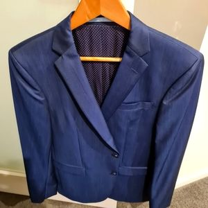 Navy SAND Business Suit and Pants, size 31-32